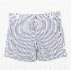 Banana Republic Blue Striped Nautical Shorts